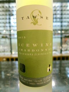 Tawse Chardonnay Icewine 2013 (92 pts)