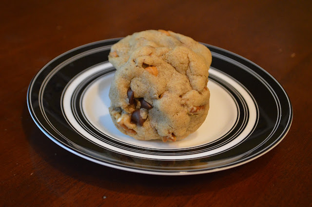 Chocolate Chip Butterscotch Pretzel Cookies