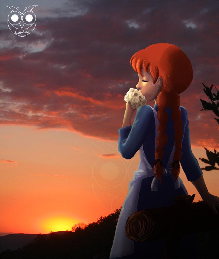 L alba dell ° giorno anna dai capelli rossi