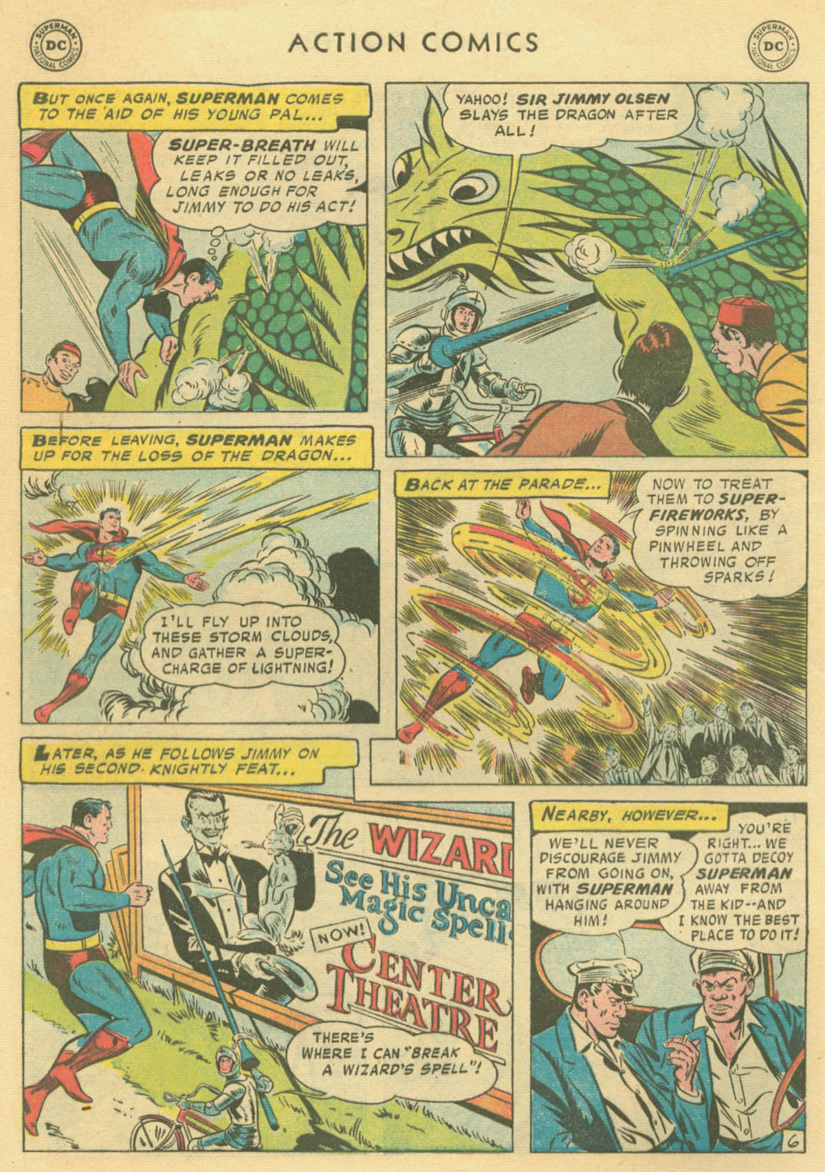 Read online Action Comics (1938) comic -  Issue #231 - 8