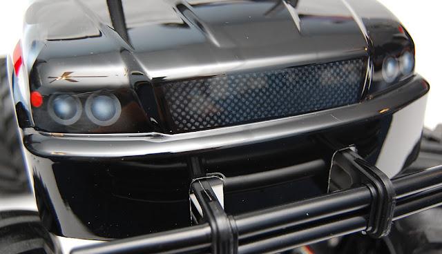 Tamiya TXT-1 painted grill and headlights