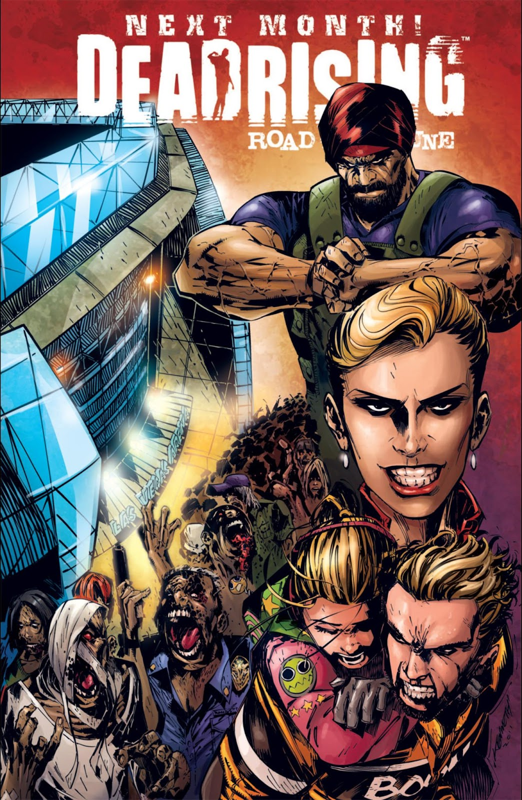 Read online Dead Rising: Road to Fortune comic -  Issue #3 - 26