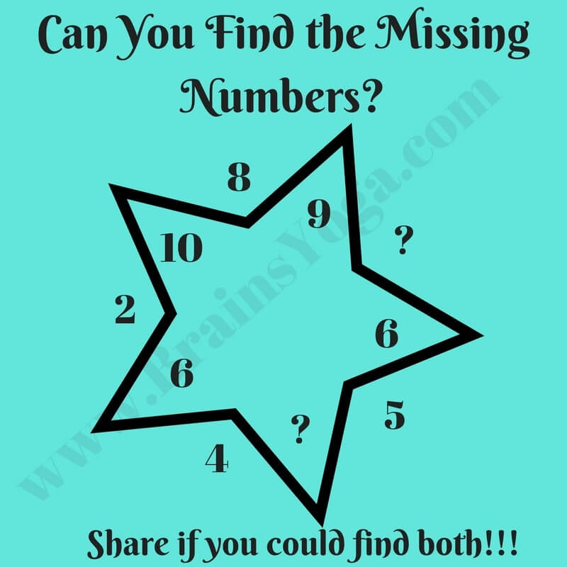 how to find the missing mean in math