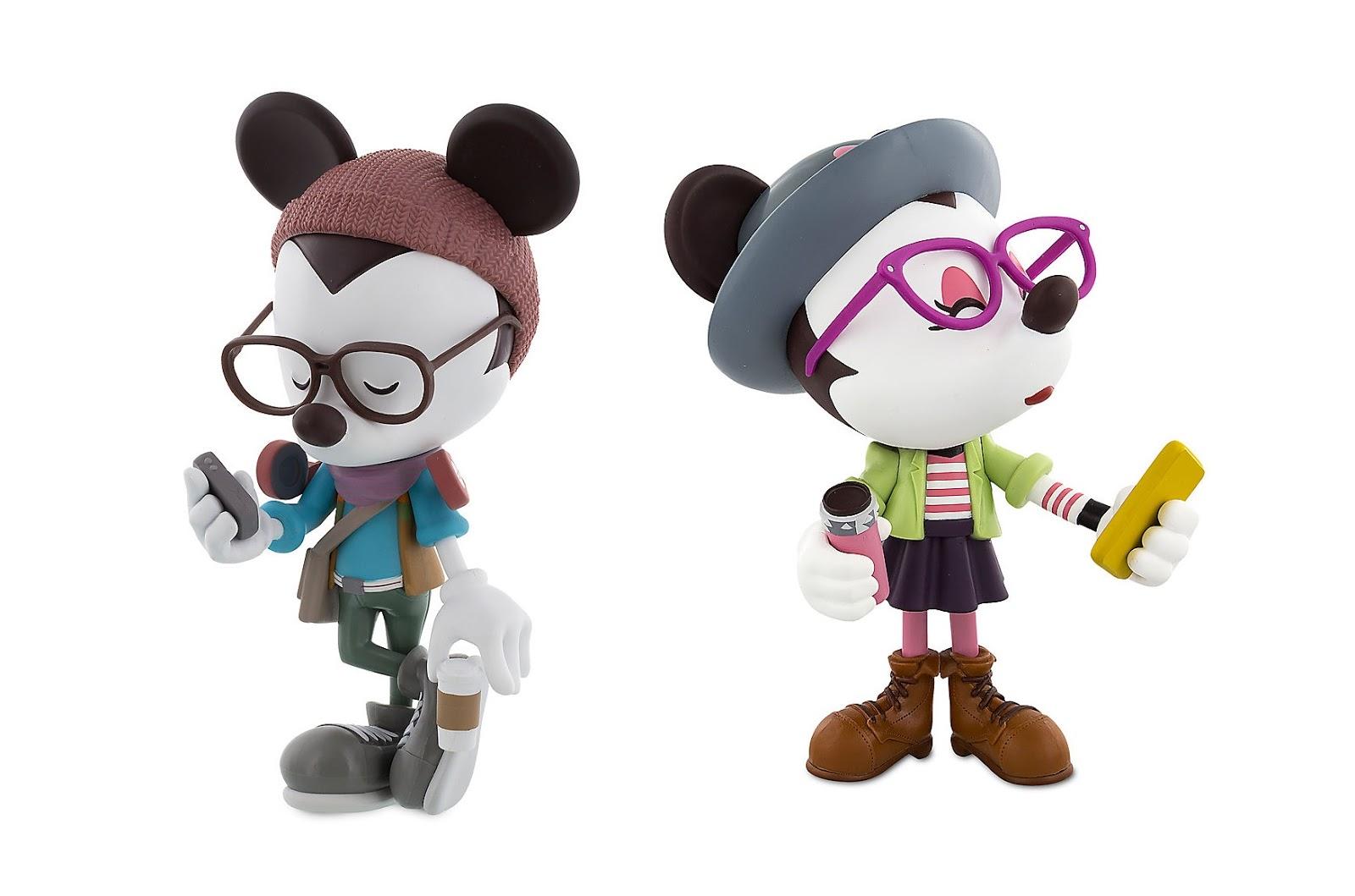 "The Blot Says...  Hipster Mickey   Minnie Vinylmation 9"" Figures by Jerrod  Maruyama x Disney 12e05e04437b"
