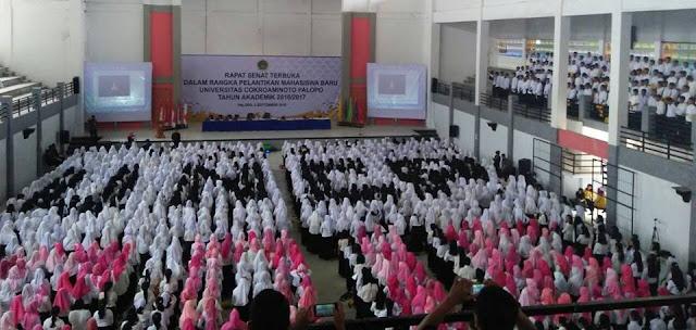 Maba UNCP Capai 1.841 Orang