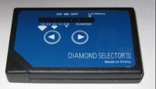 testador de diamante fake