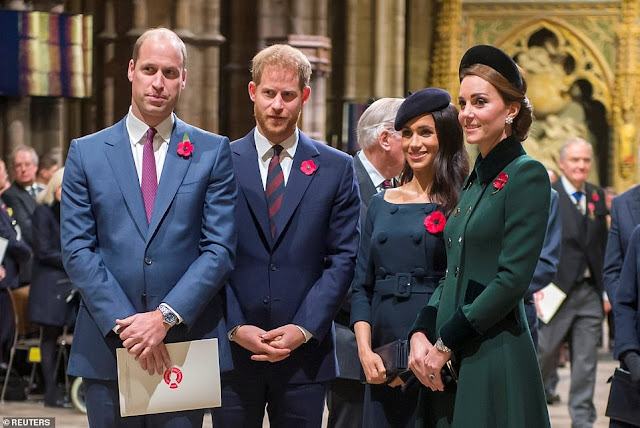 Kate i William na Mszy w  Opactwie Westminsterskim