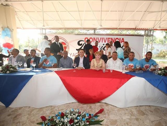 Bohechío, Yaque y Arroyo Cano celebran en grande una Convivencia Municipal.