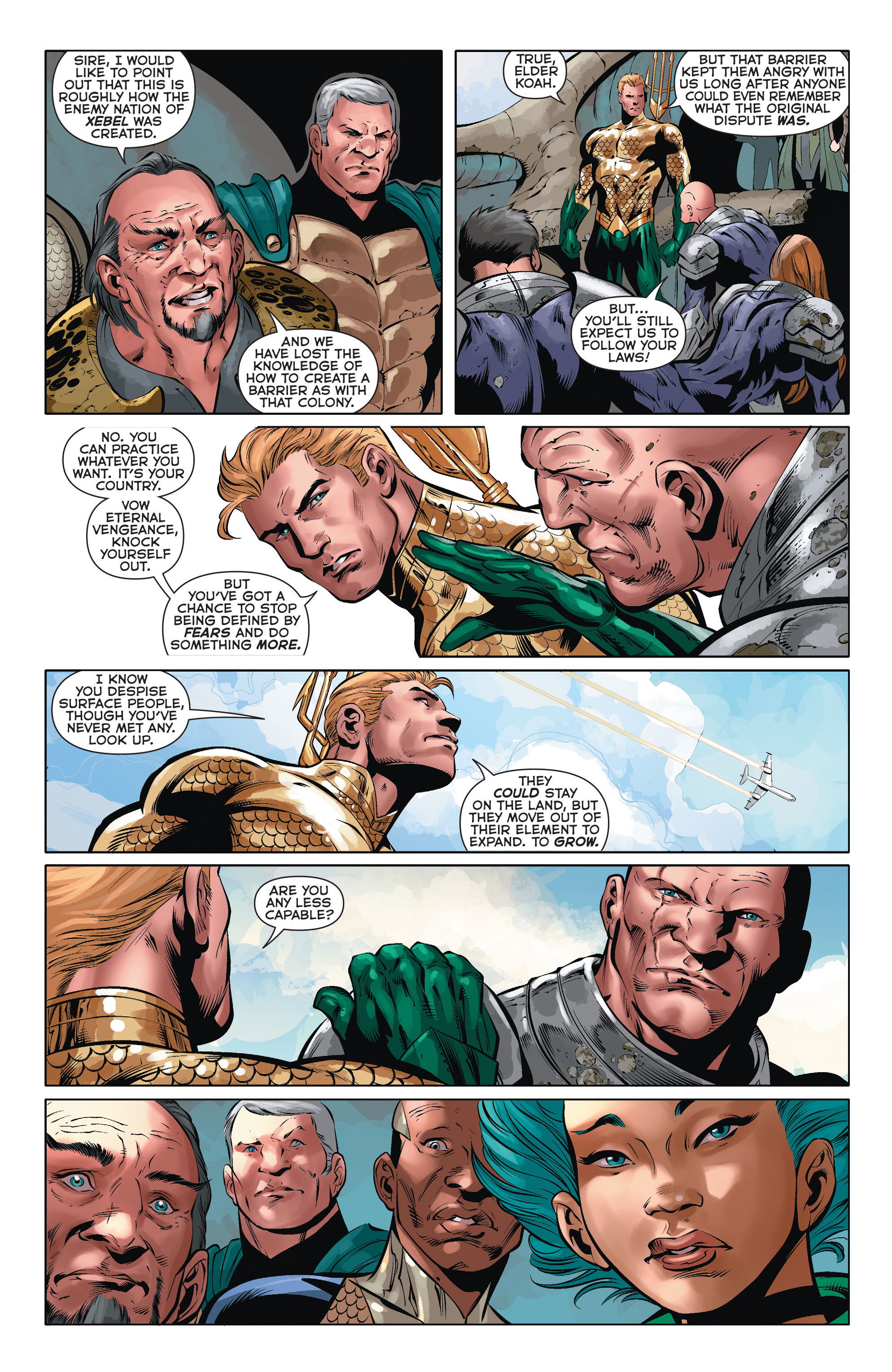 Read online Aquaman (2011) comic -  Issue #35 - 14