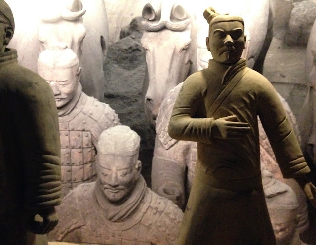 Os Guerreiros de Xian estão por Lisboa