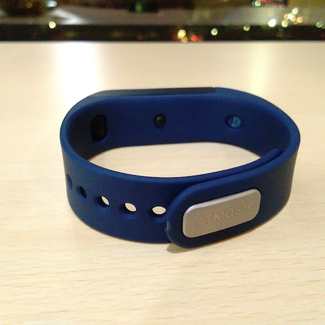 Atmos Fit Smartband Blue
