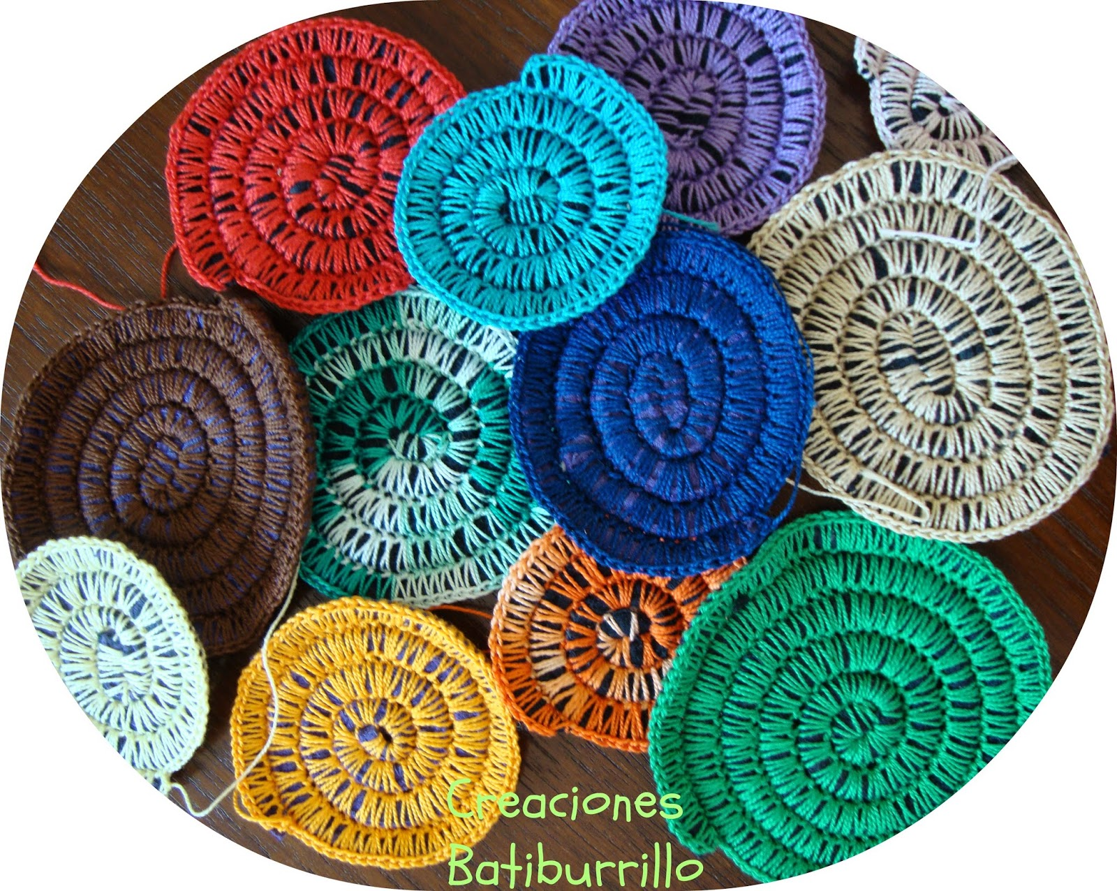 Carpeta En Espiral De Crochet Tutorial Ganchillo En Espiral Croch T