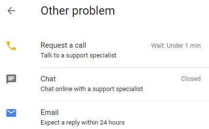 contact Google Plus