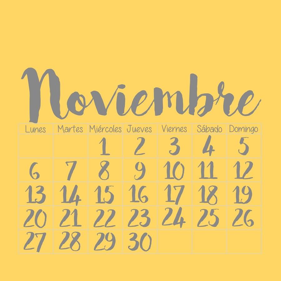 DESCARGAR Calendario Multicolor