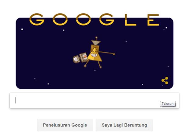 Google Doodle: Menghargai Jasa Pesawat Luar Angkasa Cassini