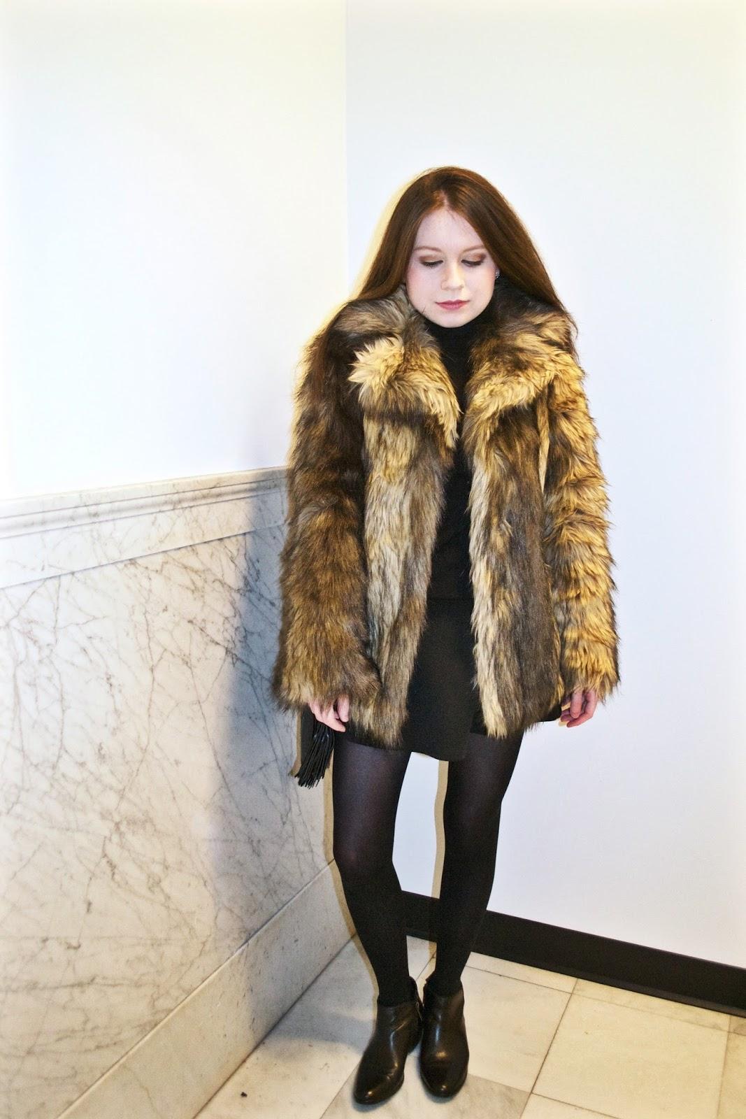 e0cdee958ad Faux Fur Fancy. Coat  ASOS ...