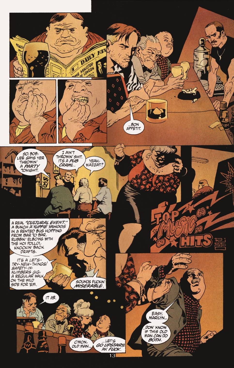 Read online 100 Bullets comic -  Issue #4 - 14