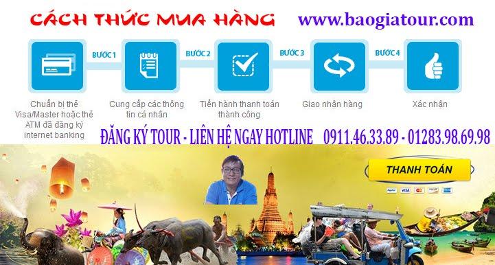 Làm thế nào để đặt tour du lịch Thái Lan 5 ngày 4 đêm nhanh nhất ?