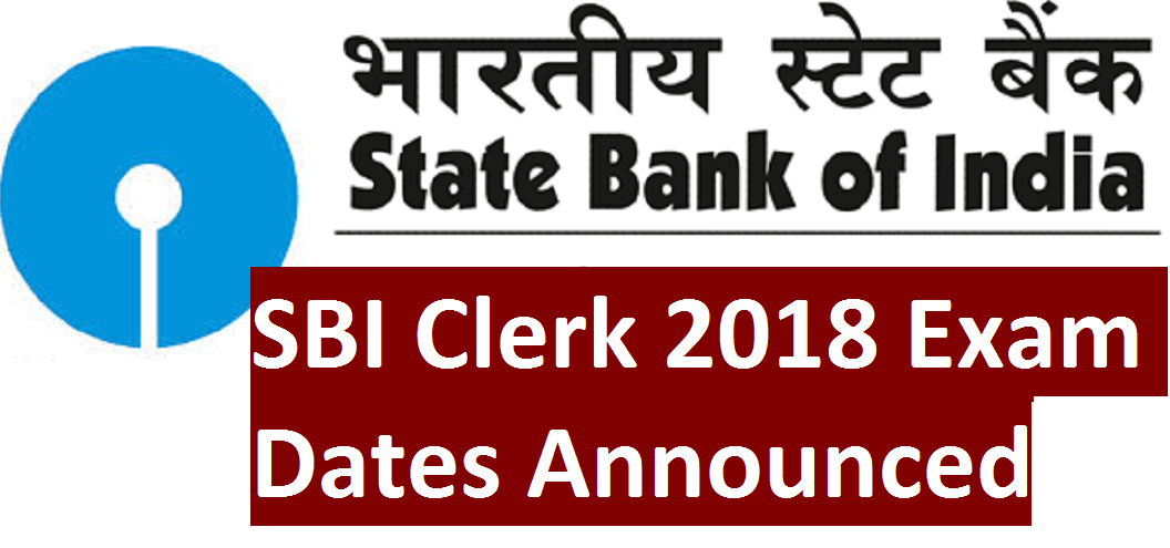 sbi bank exam date