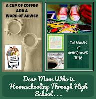 Dear Mom Who is Homeschooling Through High School . . . on Homeschool Coffee Break @ kympossibleblog.blogspot.com