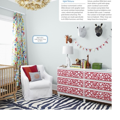 HGTV magaizine nursery