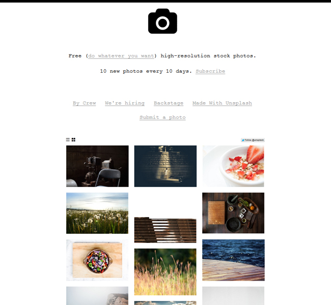 unsplash-free-stock-sites Great List of Awesome Free Stock Photos Websites for Web Designers Tutorial
