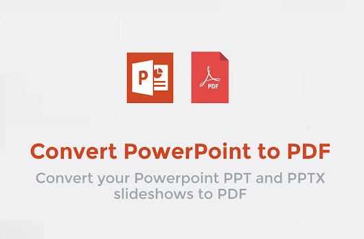 Save PowerPoint presentations as PDF files - PDF CAT