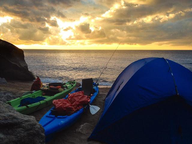 Kraken Kayak Camping