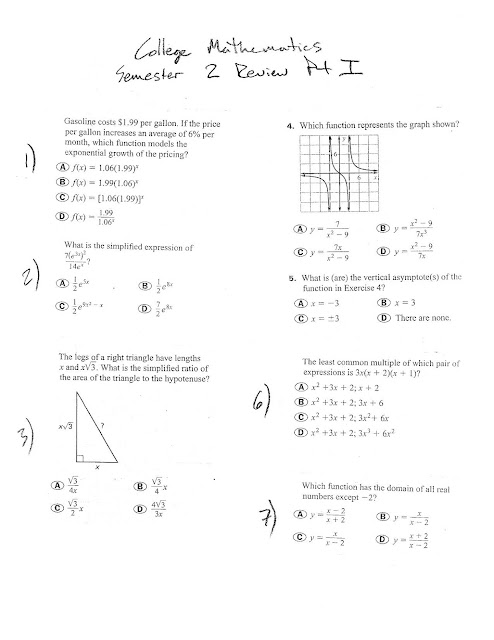 Mr  Suominen's Math Homepage: May 2012
