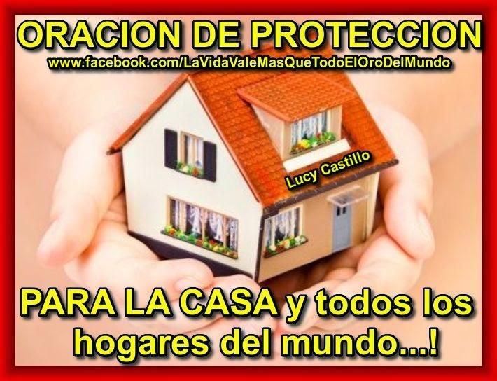 Oraci n de protecci n para la casa - Proteccion para casas ...