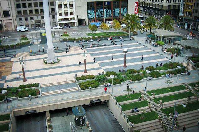 Região da Union Square em San Francisco