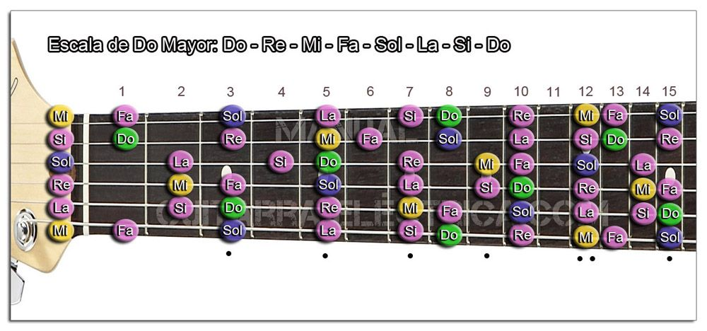 Cómo Aprender las Escalas de Guitarra