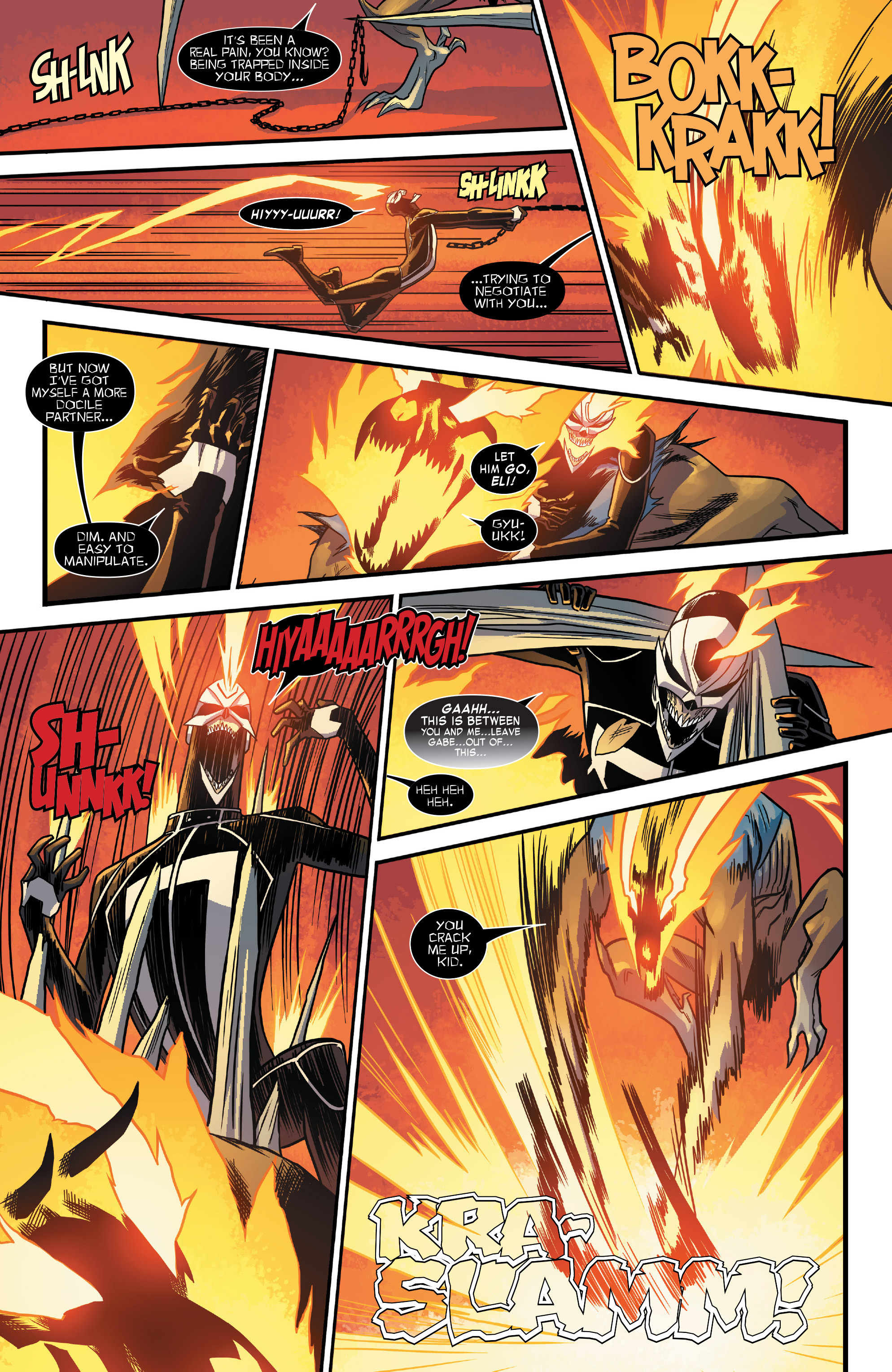 Read online All-New Ghost Rider comic -  Issue #12 - 17