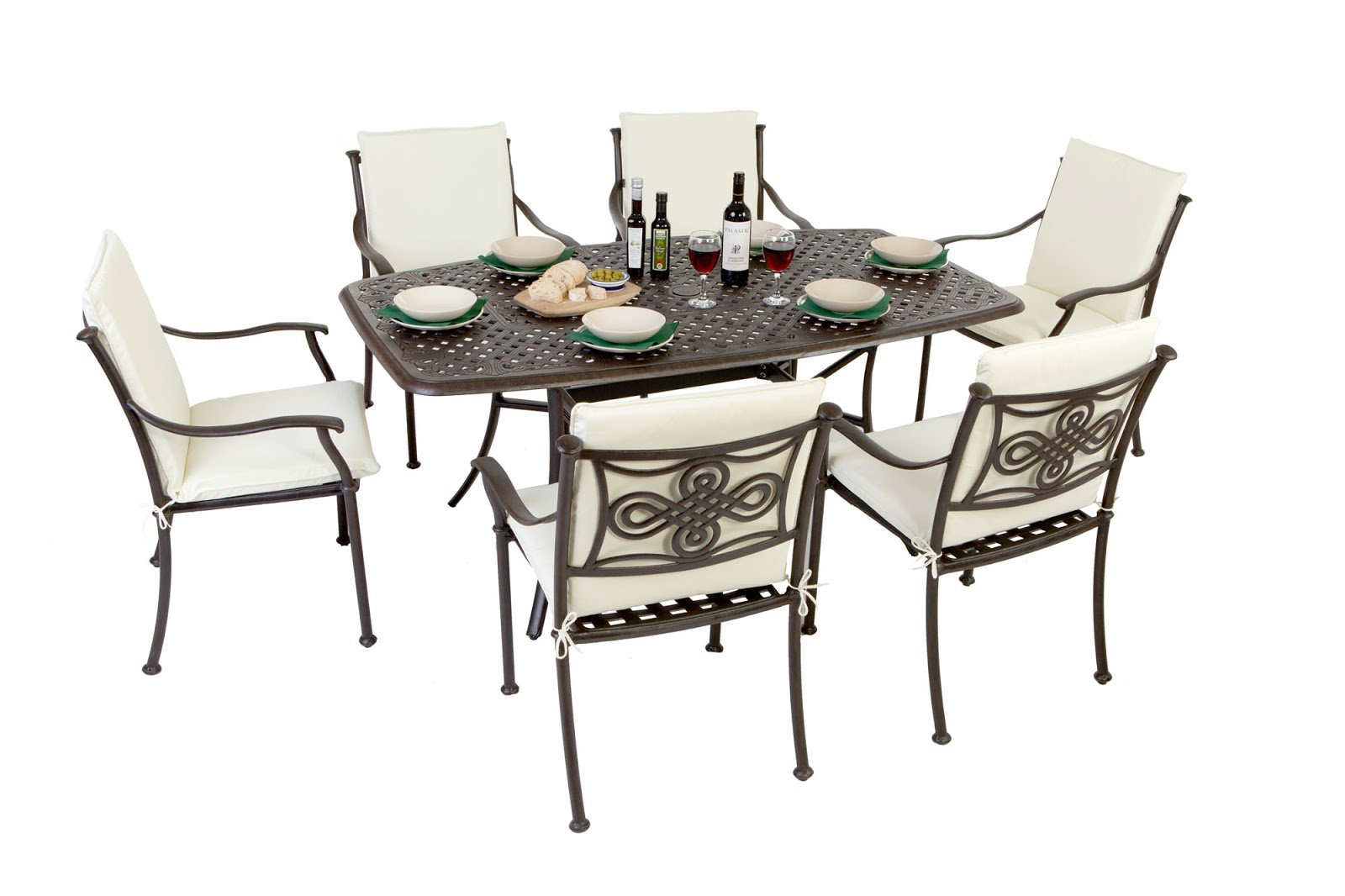 6 Seater Patio Table Gallery Decoration Ideas Images