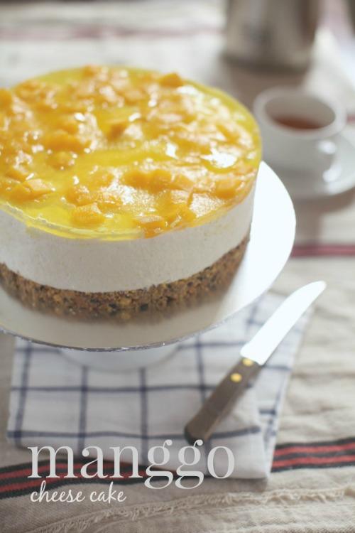 Manggo Cheese Cake Yang Sangat Awesome