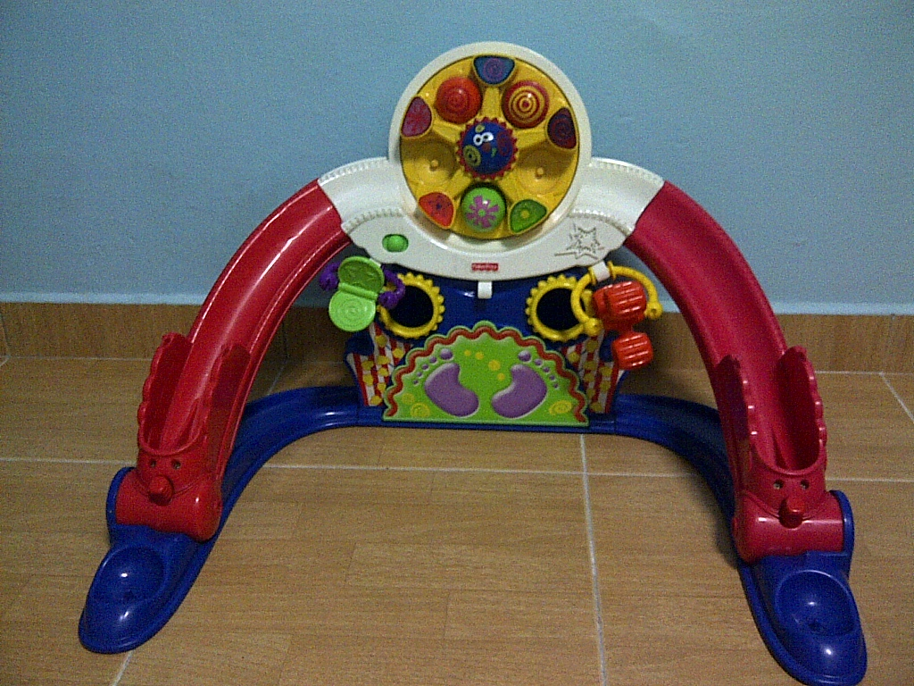 Special Toys Shop Fisher Price Kick N Whirl Carnival