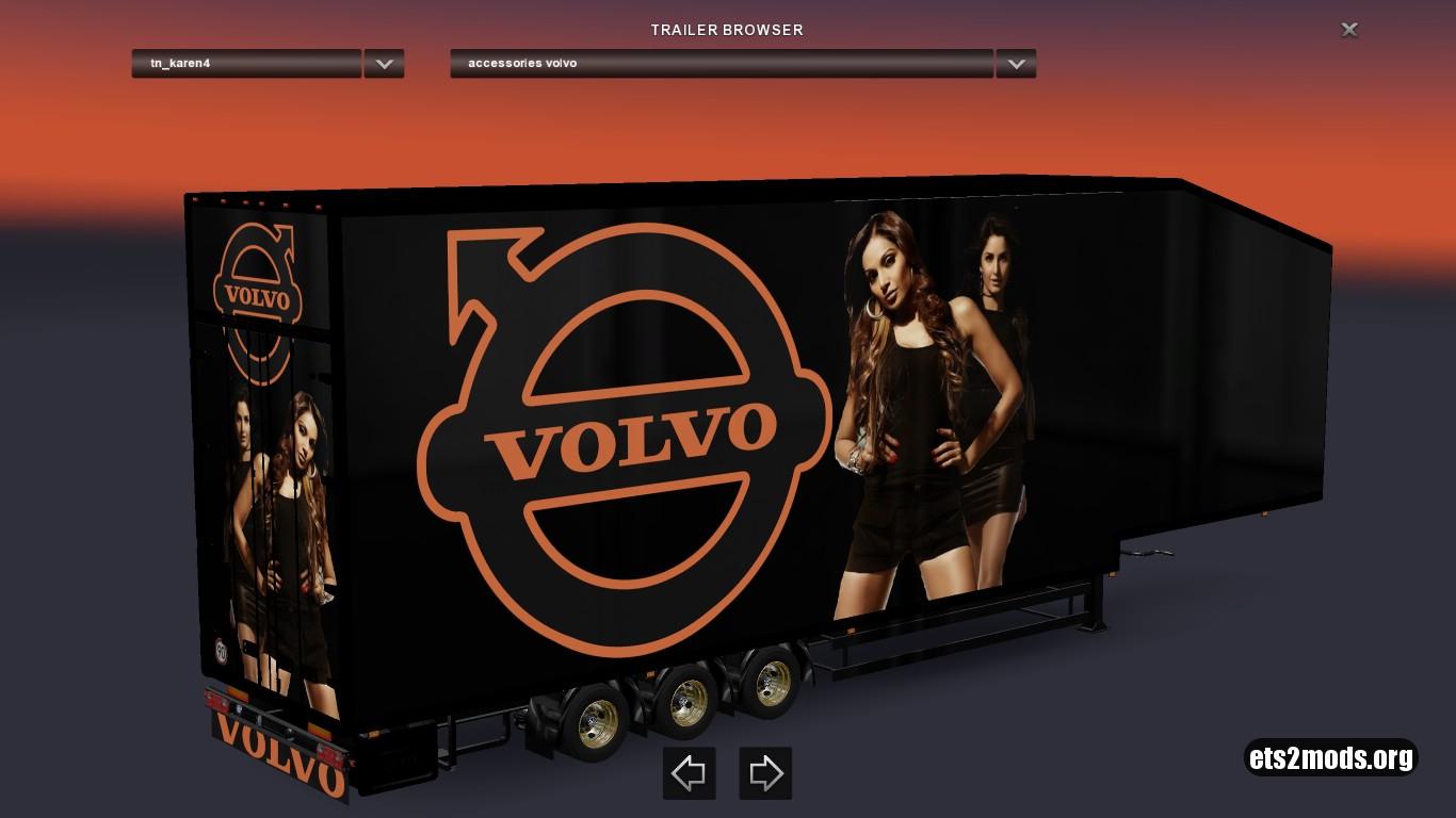 Combo Pack Volvo VNL 670 Style & Trailer Doubledeck