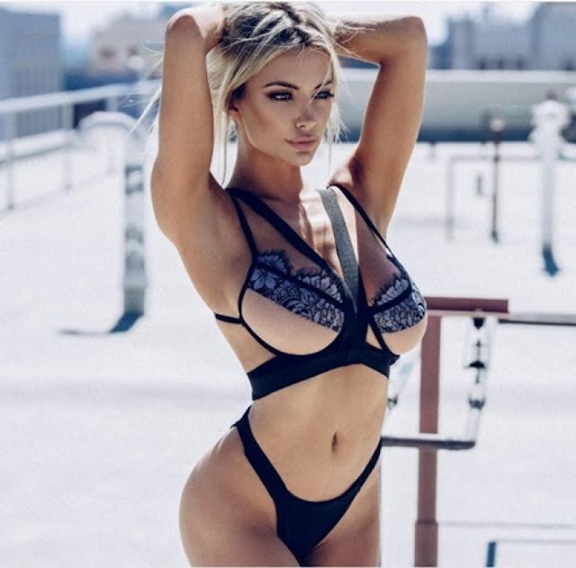 Hot girls Lindsey sexy Playboy model 5.2 feet 10