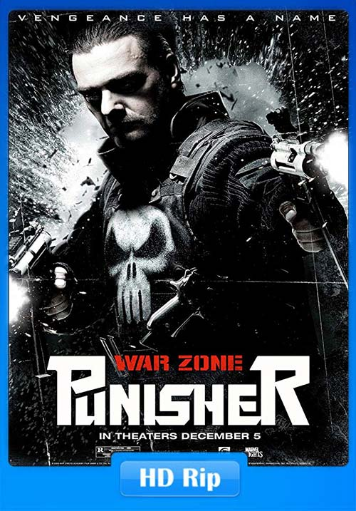 Punisher War Zone 2008 720p BDRip Hindi Telugu Eng x264 | 480p 300MB | 100MB HEVC