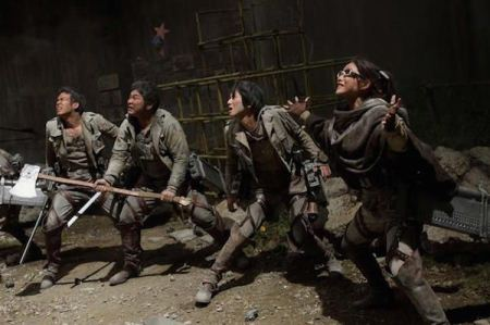 Attack on Titan 2015 Live Action Subtitle Indonesia