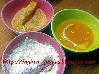 Φιλέτο Παγκάσιους πανέ - από «Τα φαγητά της γιαγιάς»