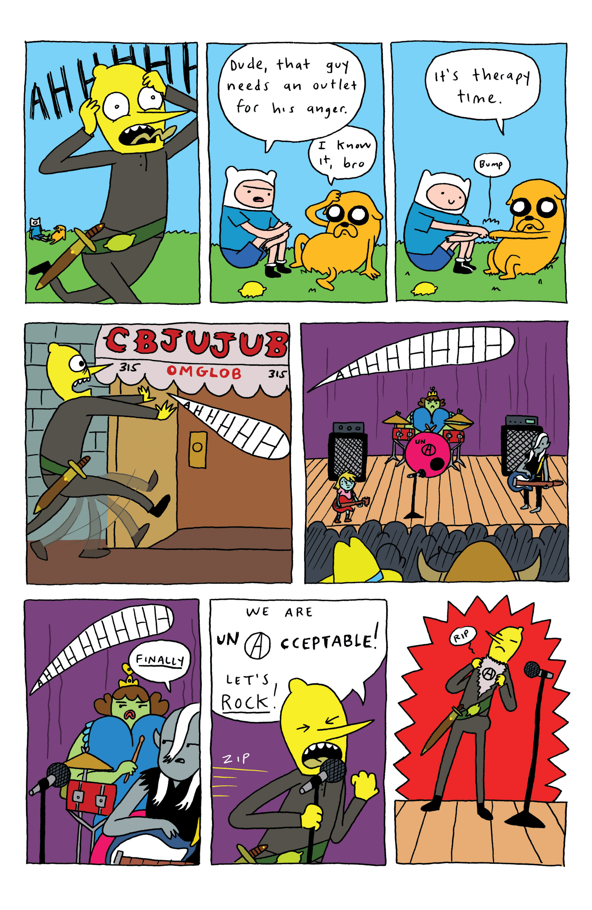 Read online Adventure Time: Marceline and the Scream Queens comic -  Issue #3 - 25
