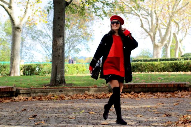 Rojo, uno de los colores de la temporada!