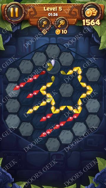 Gems & Magic [Pearl] Level 5 Solution, Walkthrough, Cheats