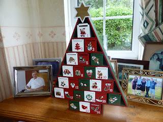 advent calendar refillable