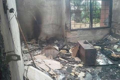 20-year-old girl sets boyfriend's house ablaze