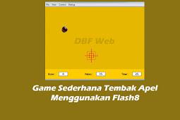 Game Sederhana Tembak Apel Menggunakan Flash8