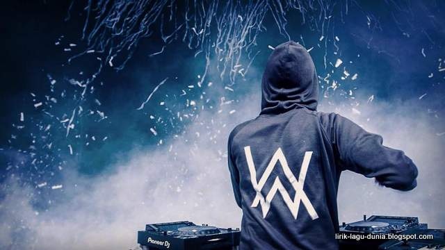 Alan Walker logo jacket - instagram