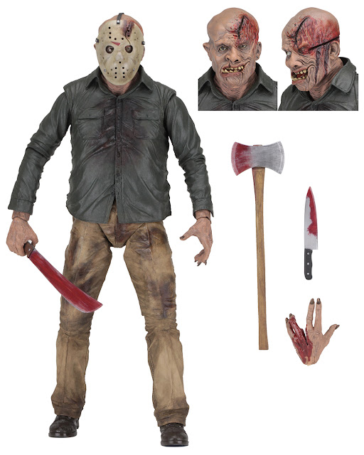 NECA Reveals Jason Voorhees Part 4 Figure at Toy Fair