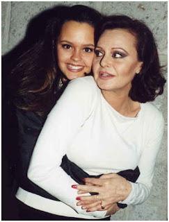 Rocio Durcal y su hija Shaila